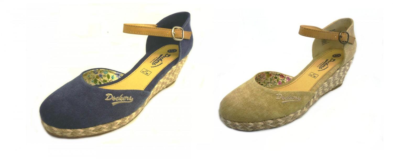 Dockers by Gerli 36IS 201 Ladies Sandal Wedge Sandals Shoes