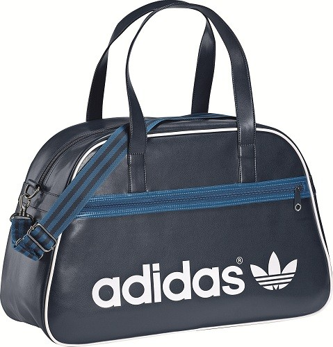 adidas adicolor holdall tasche blau wei ebay. Black Bedroom Furniture Sets. Home Design Ideas