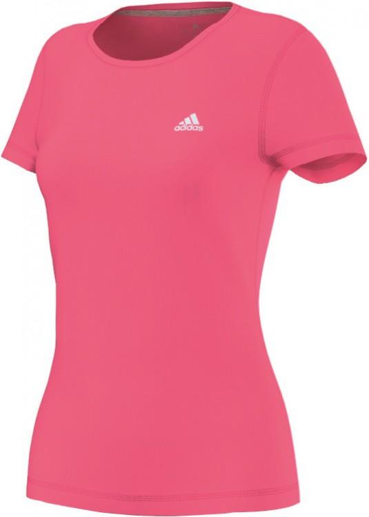 adidas damen prime tee t shirt m66106 pink ebay. Black Bedroom Furniture Sets. Home Design Ideas